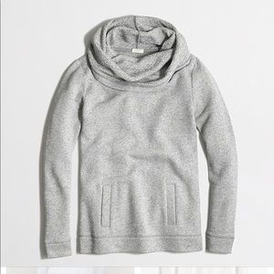 J.Crew Funnel neck  pullover swestshirt size XS